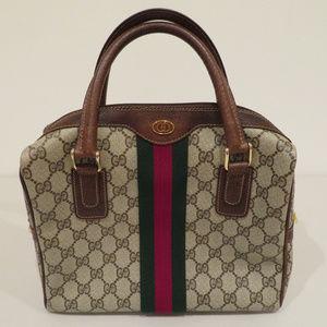 Vintage Gucci Boston Medium Top Handle Bag